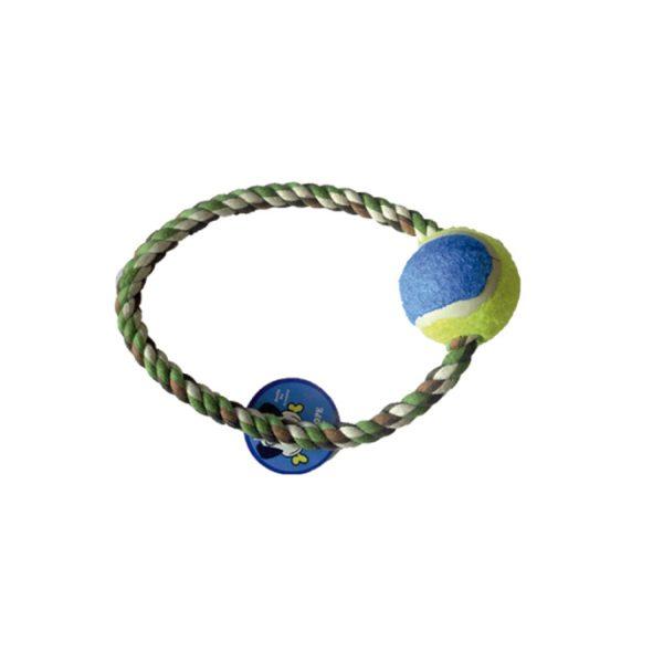 Soga redonda con pelota