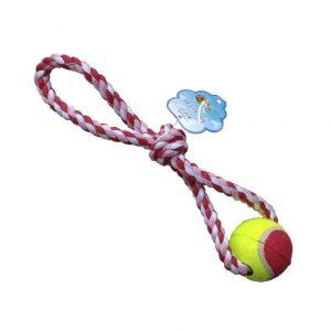 Soga doble nudo con pelota