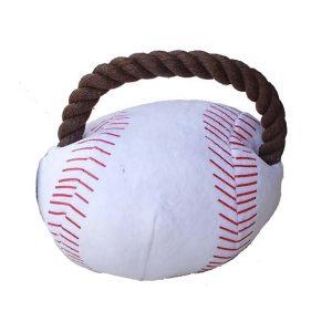 Pelota beisball con soga